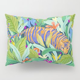 Colorful Jungle Pillow Sham