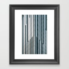 Surface Tension: Glasgow City Centre Framed Art Print