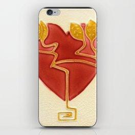 Art Nouveau Heart iPhone Skin