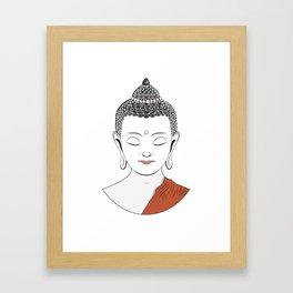 Life of Buddha Framed Art Print