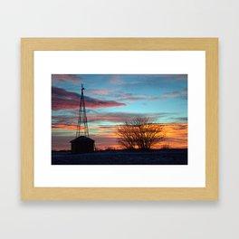 Beautiful Mornin' Framed Art Print