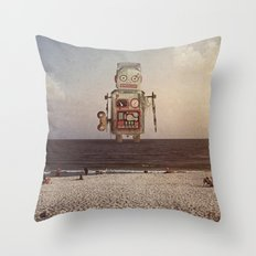 sighting Throw Pillow