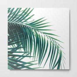 Palm Leaves Green Vibes #6 #tropical #decor #art #society6 Metal Print