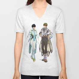 Tales of Iwatobi: Haru and Makoto (MakoHaru) Unisex V-Neck