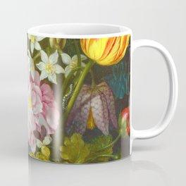 Ambrosius Bosschaert The Elder - Flowers In A Glass Vase Coffee Mug