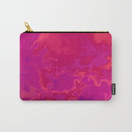 Pink Orange Abstract Art Digitalart Painting Gift Carry-All Pouch