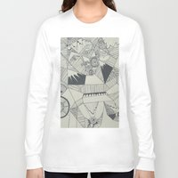 naked Long Sleeve T-shirts featuring Naked by Annemiek Boonstra