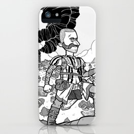 The King is Dead iPhone Case