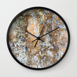 Painted Stone Textures 80 Wall Clock