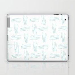 unwritten script aqua Laptop & iPad Skin