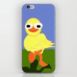 Whacky Bird iPhone Skin
