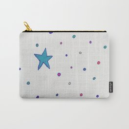 Stars and Dots Carry-All Pouch