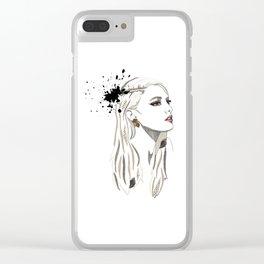 Profile Clear iPhone Case