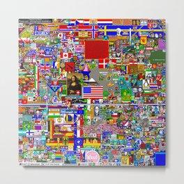 Reddit r/place Metal Print
