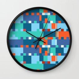 Chopin Fantaisie Impromptu (Anemone & Coral Colours) Wall Clock