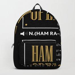 Ham Radio Operator - Gift Backpack