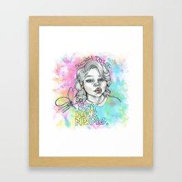 BLM Framed Art Print