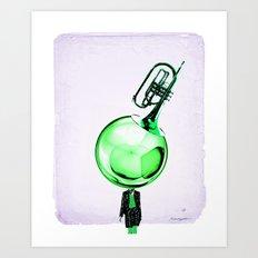 Modern Cornet Art Print