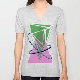 Orbital Triangularity Unisex V-Neck