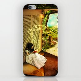 The Book Of Secrets iPhone Skin