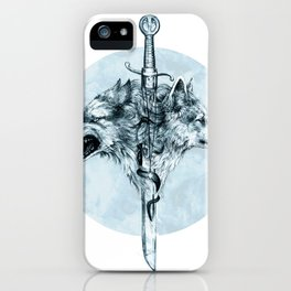 Dire Wolf iPhone Case