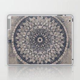 Mandala Geometric Grey and Navy Blue Laptop & iPad Skin