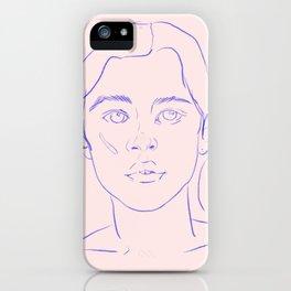 Minimal Maxine iPhone Case