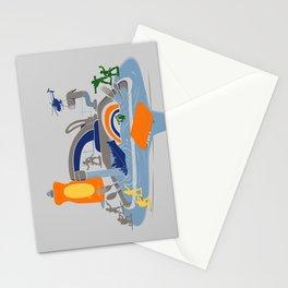 Sink Sank Sunk Stationery Cards