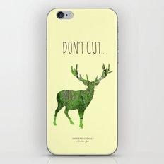 Save the animals - Deer iPhone & iPod Skin
