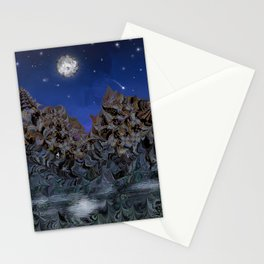 Mooniescape Stationery Cards