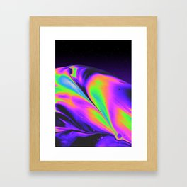 LOW BEAM Framed Art Print