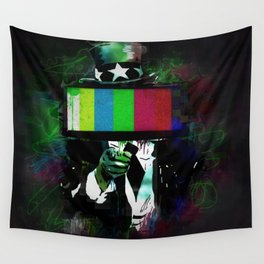 Uncle Brainwash Wall Tapestry