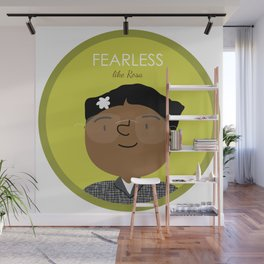 Fearless like Rosa Parks Wall Mural