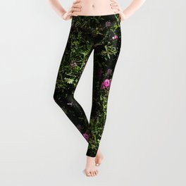 In the mountains where the Sweet Peas grow... Leggings