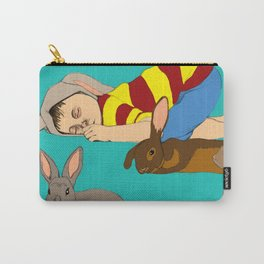 Bunny Boy Carry-All Pouch