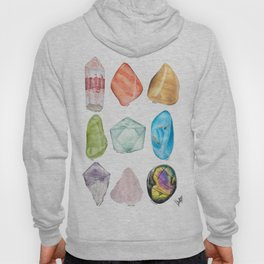 Illuminated Structure: Mineral Rainbow 2 Hoody