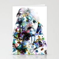 jack sparrow Stationery Cards featuring Jack Sparrow by NKlein Design