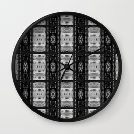 Evening Out Wall Clock