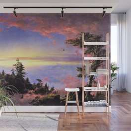 New England - Above the Clouds at Sunrise by Frederic Irwin Church Wall Mural