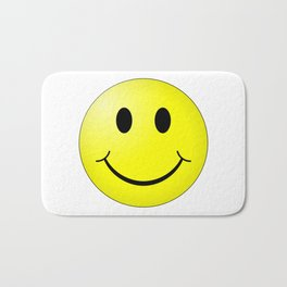 Smiley Face Bath Mat