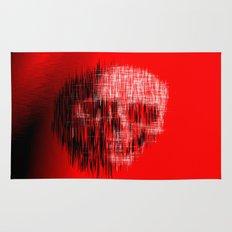Etched Skull Rug