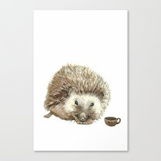 Hector the Hedgehog Canvas Print