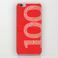 the 100 iPhone & iPod Skins featuring 100 by axemangraphics