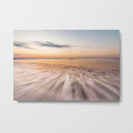 Shades in the waves Metal Print