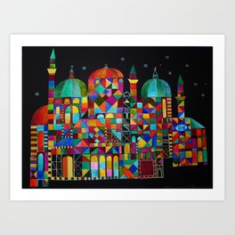Temple for All Art Print