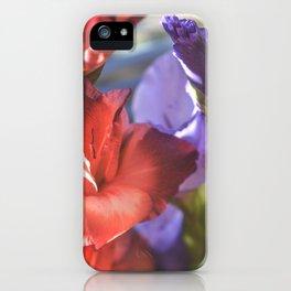 Glad Flowers iPhone Case