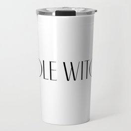 PoleWitch Travel Mug
