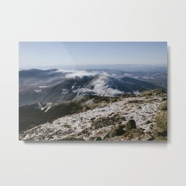 Cannon Mountain from Mt. Lafayette Metal Print