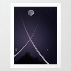 Moonbow, Part II Art Print