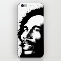 marley iPhone & iPod Skins featuring Marley by Mr Shins